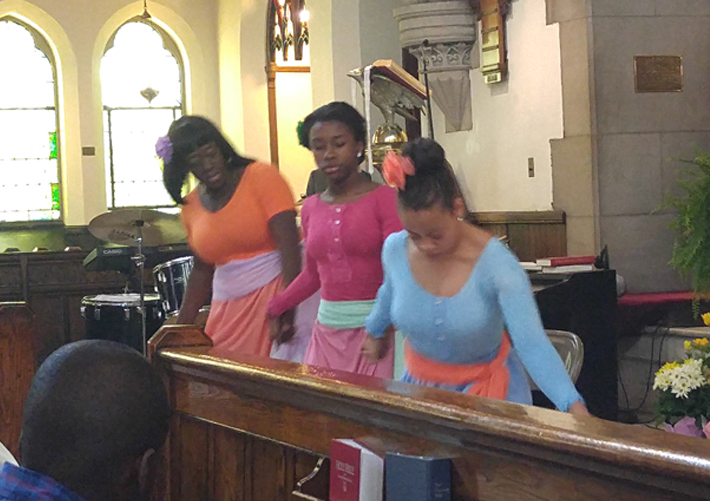 Vessels of Praise Dance Easter 2017